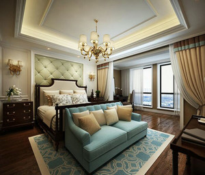 经典的小户型欧式卧室装修效果图欣赏