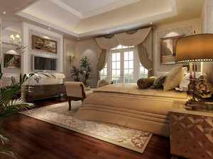 小户型简欧风格卧室装修效果图实例