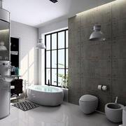 卫生间创意墙面设计