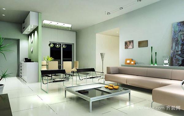 120平米现代简约时尚客厅装修效果图