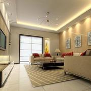简约客厅吊顶设计