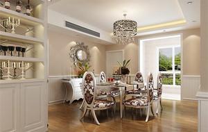 欧式风格小户型餐厅室内设计装修效果图实例