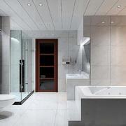 10平米豪华时尚精致卫生间装修效果图