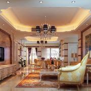 古典欧式风格客厅整体设计