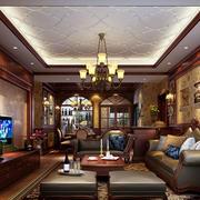 古典欧式风格客厅电视背景墙