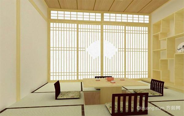 大户型日式风格室内榻榻米设计装修效果图