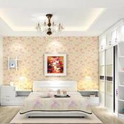 田园风格卧室墙纸装修