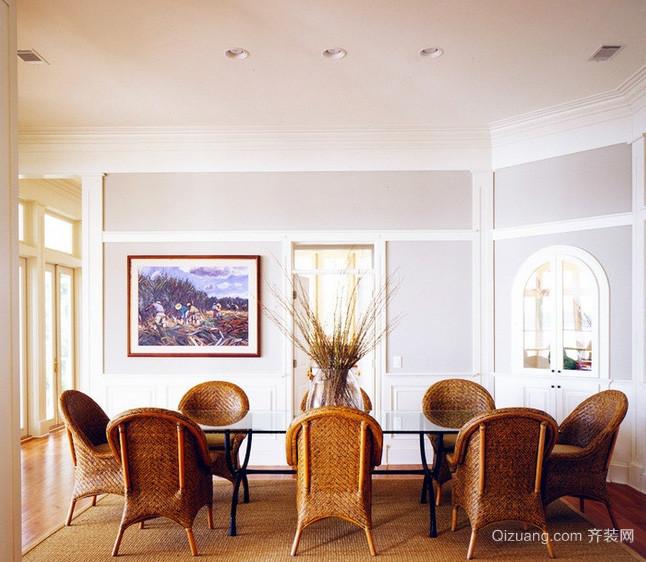 小户型家庭欧式风格餐厅装修效果图鉴赏