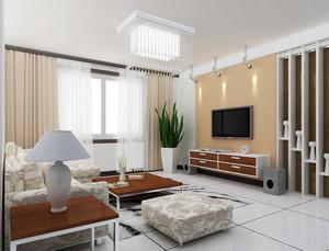 欧式精美的小户型室内电视背景墙设计装修效果图