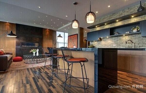 现代简约时尚创意家居小吧台设计效果图大全