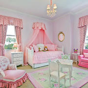 2016精致欧式儿童房室内设计装修效果图