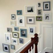 楼梯时尚照片墙