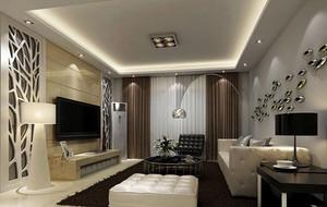 别墅欧式风格客厅电视背景墙装修效果图欣赏