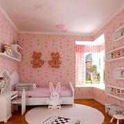 可爱卡通儿童房装修
