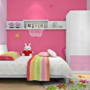 可爱女生儿童房