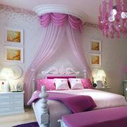 北欧风格精致粉色儿童房装修效果图