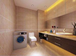 120平米欧式卫生间室内设计装修效果图鉴赏