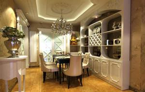 120平米大户型欧式室内酒柜装修效果图欣赏