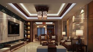 中式风格精致典雅客厅装修效果图赏析