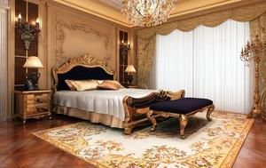 欧式古典风格精致卧室装修效果图大全
