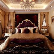 精致典雅欧式卧室效果图