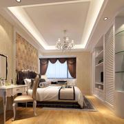 2016年全新款简欧时尚精致风格卧室装修效果图