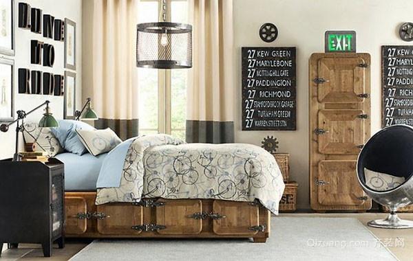 2016年全新款古典欧式风格儿童房装修效果图