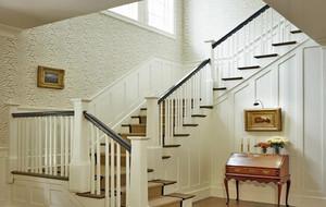现代精致的别墅型室内楼梯设计装修效果图