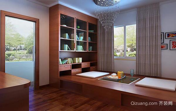 小户型现代简约风格室内榻榻米设计装修效果图