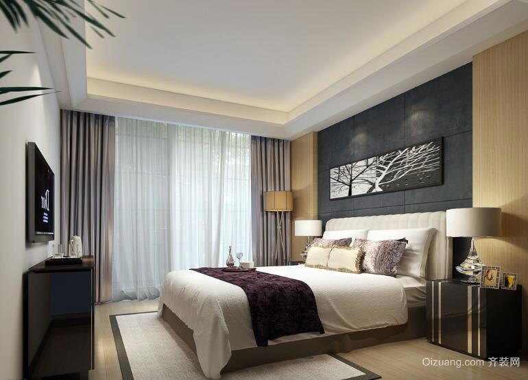 2016精致的大户型卧室设计装修效果图