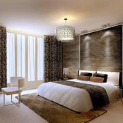 2016小户型精致现代卧室室内设计装修效果图