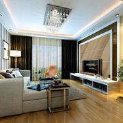 100平米别墅型客厅设计装修效果图鉴赏