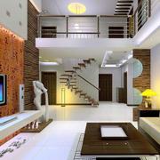 欧式别墅型客厅室内装修效果图鉴赏