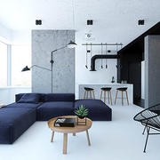 单身公寓效果图