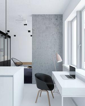 80平米后现代风格单身公寓装修效果图赏析