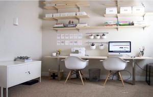5平米现代简约时尚小书房装修效果图赏析
