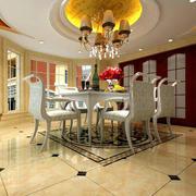 2016欧式风格餐厅室内设计装修效果图