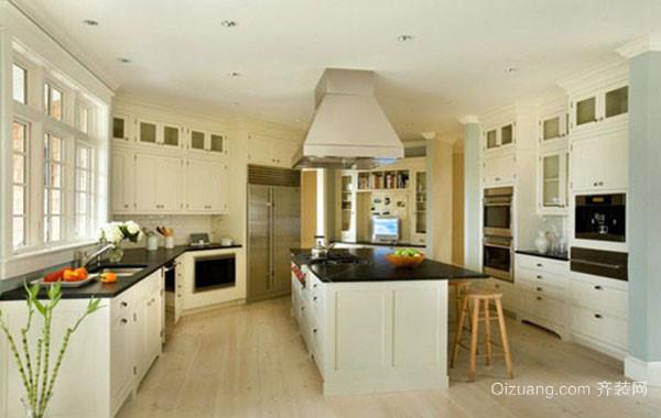 2016年全新款欧式风格精致开放式厨房装修效果图