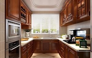 120平米三居室欧式精致小厨房装修效果图赏析