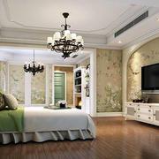 美式田园风格精致卧室效果图