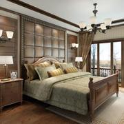 美式经典卧室背景墙