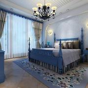 精致卧室窗帘设计