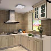 欧式精致厨房效果图