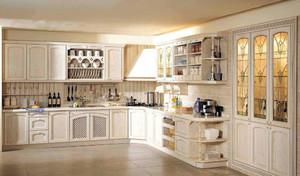 2016年现代简约欧式风格厨房装修效果图