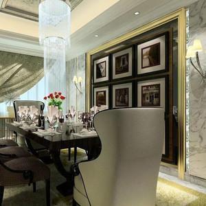 大户型欧式风格餐厅背景墙装修效果图鉴赏