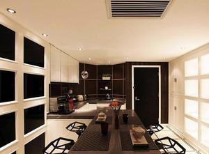 欧式风格大户型开放式厨房鉴赏装修效果图