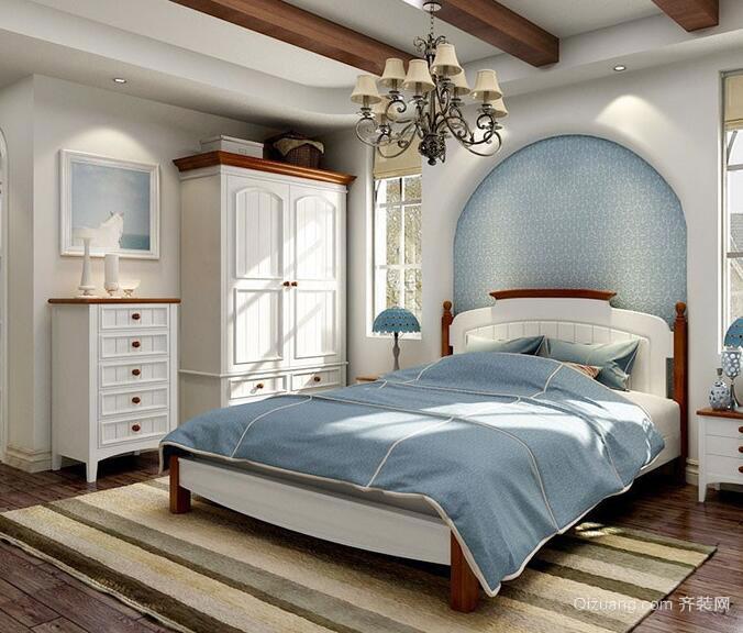 大户型地中海风格卧室装修效果图实例