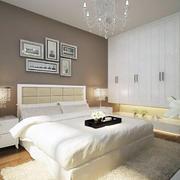 2016别墅型简欧风格卧室装修效果图鉴赏