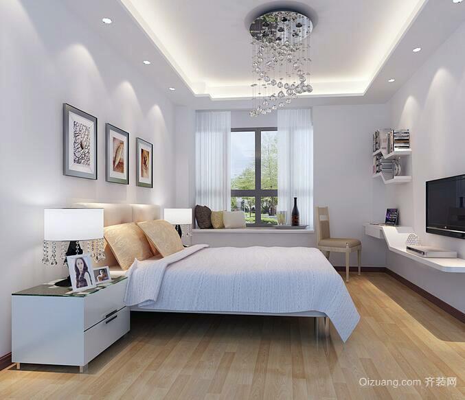 大户型现代简约风格卧室装修效果图欣赏
