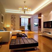 精致的大户型欧式客厅室内装修效果图实例